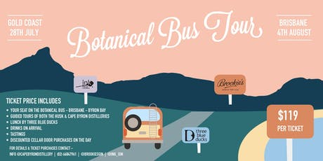 Botancial Bus Tour Gold Coast to Byron tickets