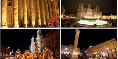 UN EMOZIONANTE PASSEGGIATA SERALE NEL CUORE DI ROMA