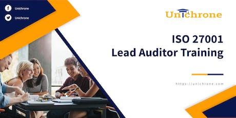 ISO 27001 Lead Auditor Training in Riyadh Saudi Arabia tickets