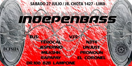 Bqestia X Bassment / IndepenBass 27/07/19 tickets