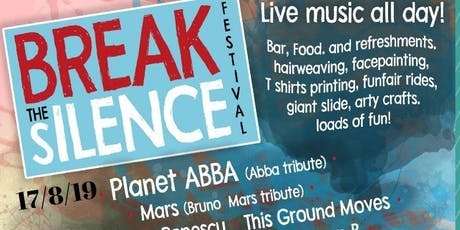 Break the Silence Outdoor  Live Music  Festival tickets