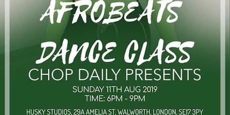 "Chop Daily presents ""Cocainna"" Dance Class tickets"