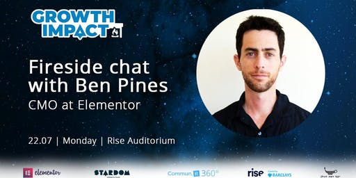 How Elementor grew to 2 million users: Fireside Chat - With Ben Pines, CMO at Elementor