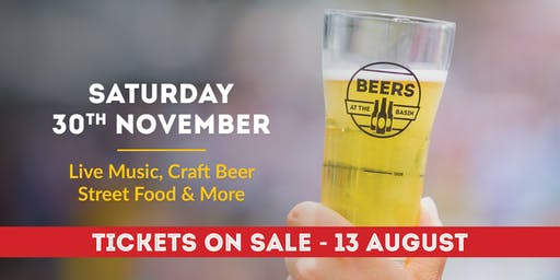 Beers at the Basin 2019