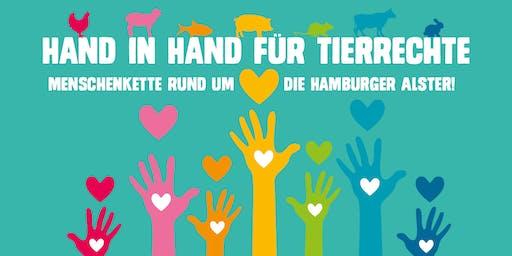 Hand in Hand für Tierrechte