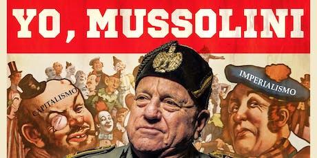 Leo Bassi: Yo, Mussolini en Festaclown Vilagarcía. entradas