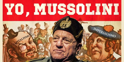 Leo Bassi: Yo, Mussolini en Festaclown Vilagarcía.