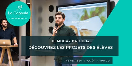 DemoDay La Capsule billets