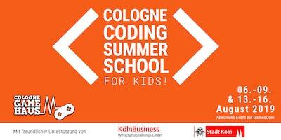 Cologne Coding Summer School für Kids
