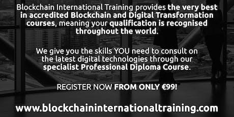 Blockchain & Digital Transformation Accredited Diploma Course entradas
