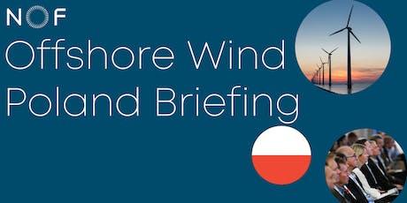 Offshore Wind Poland Briefing tickets