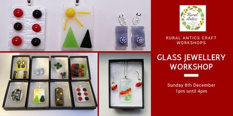 Glass Jewellery Making Workshop tickets