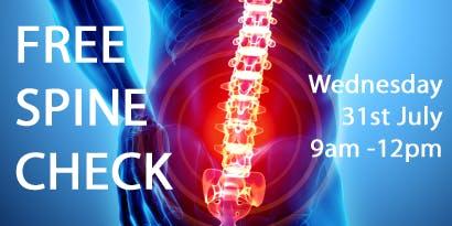 Free Spine Checks