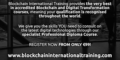 Blockchain & Digital Transformation Accredited Diploma Course - Madrid, ES entradas