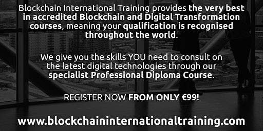 Blockchain & Digital Transformation Accredited Diploma Course - Madrid, ES