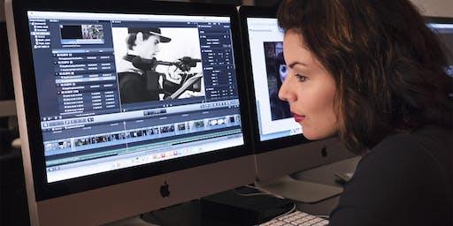Schnupper-Workshop am Open Day: Einführung in die Postproduktion in der Filmbranche