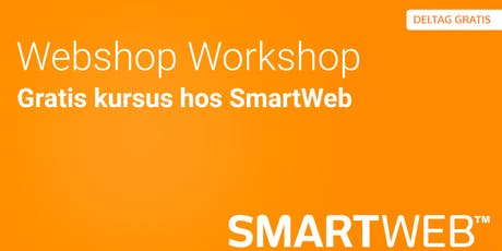 SmartWeb Webshop Workshop tickets
