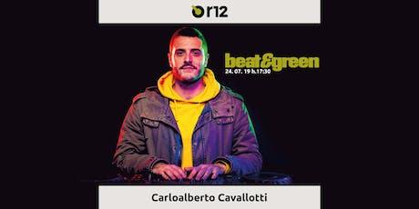 Beat&Green con Carlo Alberto Cavallotti biglietti
