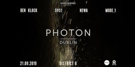 Photon: Ben Klock, DVS1, Newa & Mode_1 at District 8 // tickets