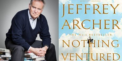 Talk and signing with Jeffrey Archer