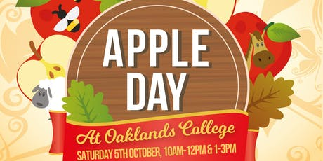 Apple Day at Oaklands College 2019 tickets