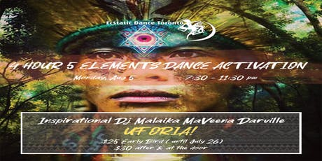 4-hour 5 Elements Dance Activation with DJ Malaika tickets