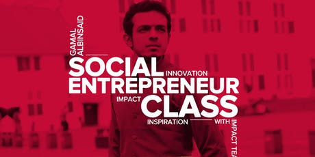 Social Entrepreneur Class with dr. Gamal Albinsaid, M. Biomed tickets