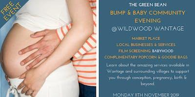 Green Bean Bump & Baby Community Evening