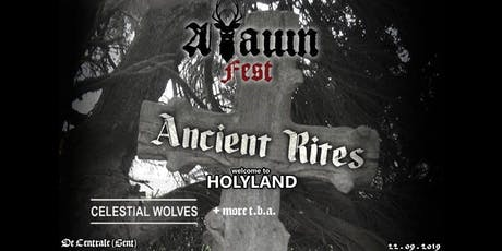 Arawn Fest: Ancient Rites/ Celestial Wolves/ Holyland + support billets