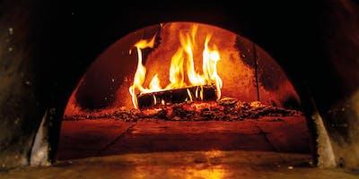 Kochen und Backen im Holzbackofen