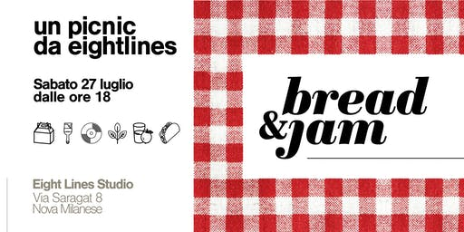 Bread & Jam | Un picnic da Eight Lines