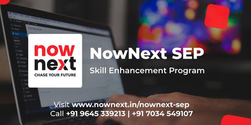 NowNext SEP - Skill Enhancement Program on Blogging and Vlogging