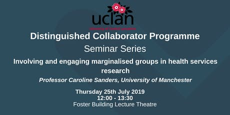 Distinguished Collaborator Lunchtime Seminar: Caroline Sanders tickets