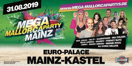 Mega Mallorcaparty Mainz Tickets