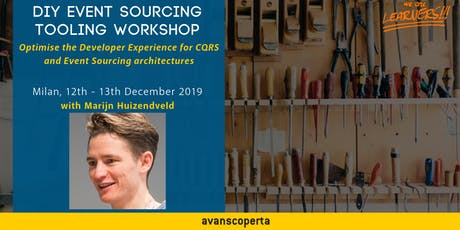 DIY Event Sourcing Tooling Workshop tickets