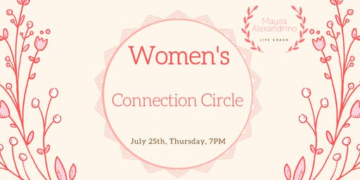 Women's connection circle - 25/07
