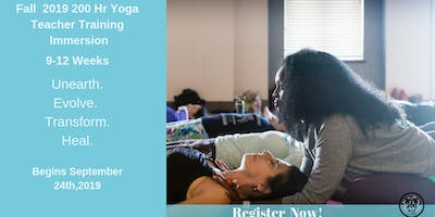 FALL 200 HR - YOGA TEACHER TRAINING