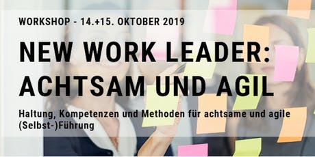 New Work Leader: Achtsam und Agil Tickets