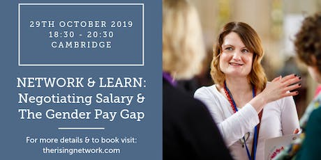 Network & Learn: Negotiating Salary & The Gender Pay Gap tickets