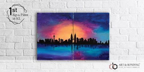 Sip & Paint Date Night: Colourful KL tickets