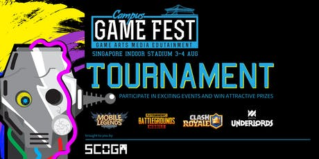 Campus Game Fest 2019: Clash Royale tickets