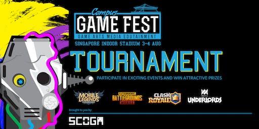 Campus Game Fest 2019: PUBG M