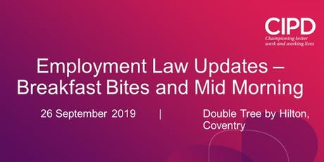 Employment Law Update - Mid Morning Session tickets