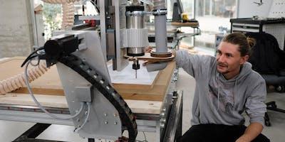 Workshop Holz – CNC Portalfräse