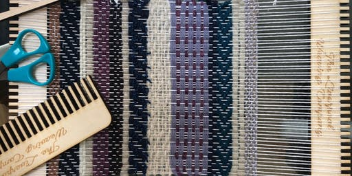 Hand Weaving with Kirsty Jean at Concept Corner, New Brighton