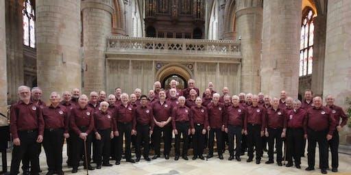 Choral concert by the Croydon Male Voice Choir