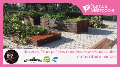 Devenez « sherpa » des données éco-responsables du territoire nantais ! billets