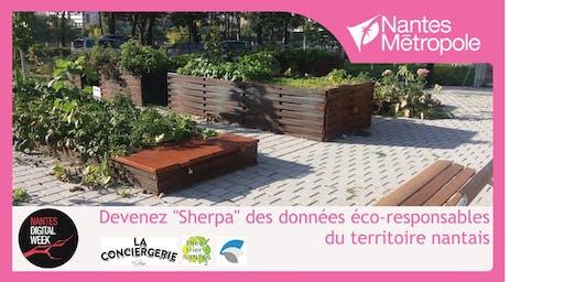 Devenez « sherpa » des données éco-responsables du territoire nantais !