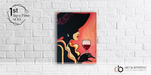Sip & Paint Night : Lady Glamour