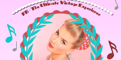 Vintage, Retro & Craft Fair - Birmingham - Live Music, Afternoon Tea